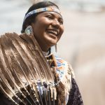Native American Woman Portrait