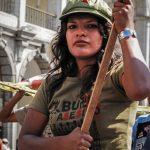 Protester - Arequipa, Peru 2007