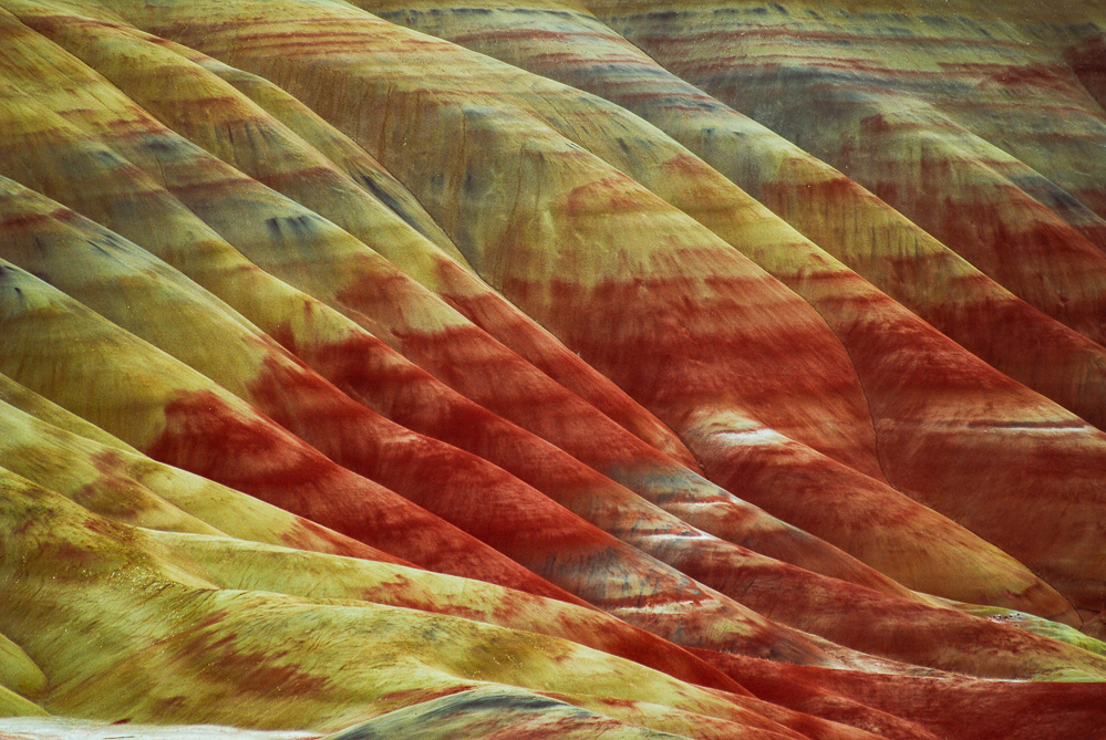 Painted Hills, John Day Fossil Beds, OR.